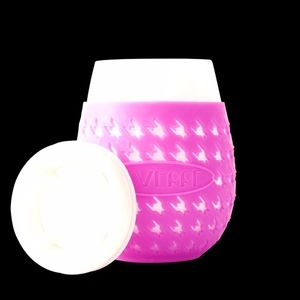 Hot Pink Goverre Portable Wine Glass